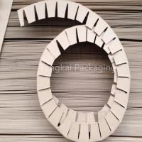 Buy cheap packaging material Ring paper corner from wholesalers
