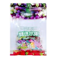 Buy cheap Chinese suppliertransparent PET/PE fruit packaging bag with zipper from wholesalers