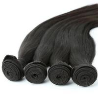 Buy cheap Raw Unprocessed Virgin Indian Hair Thick Ends Bundle Cuticle Aligned Hair from wholesalers