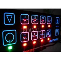 Buy cheap Electrical Backlit LED Membrane Switch Panel Sticker from wholesalers
