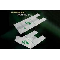Buy cheap Biodegradable T Shirt Shopping Bags from wholesalers