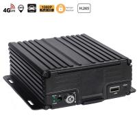 Buy cheap 4CH Hard Disk SD H.265 4G Mobile DVR from wholesalers