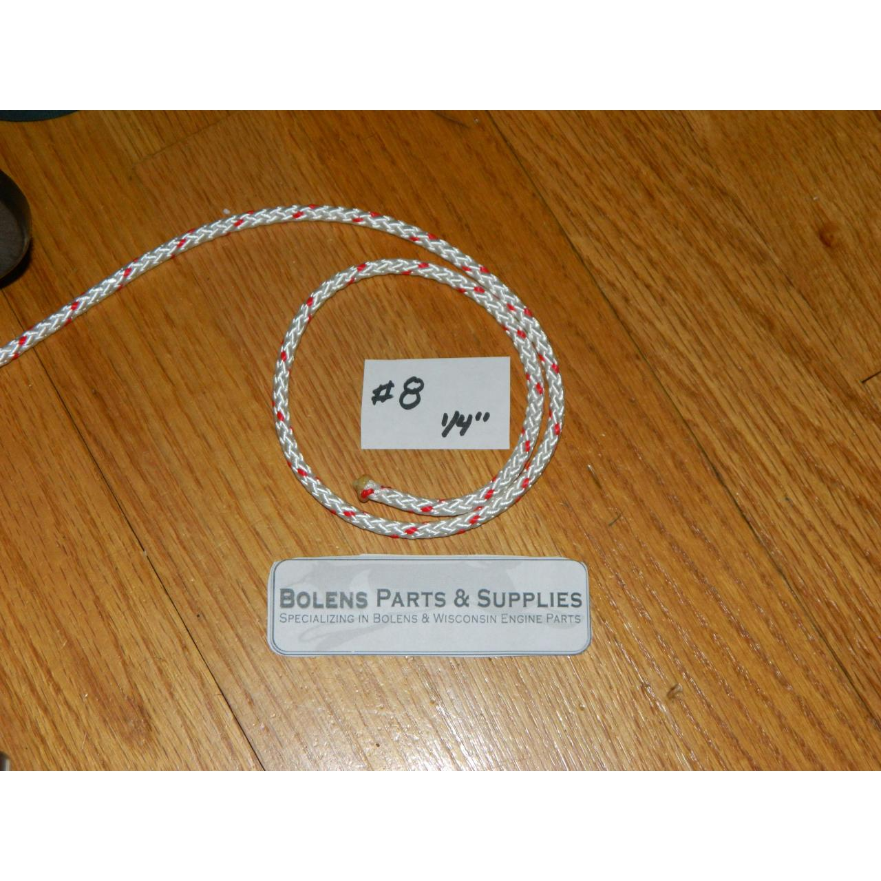 Buy cheap Wisconsin Engine Parts 1/4'' Starter Rope Sold in 1' increments from wholesalers