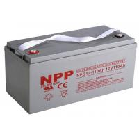 Buy cheap 12V 110Ah Gel VRLA sealed lead acid battery from wholesalers