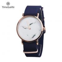 Buy cheap Blue Women Nylon Strap Watch from wholesalers