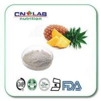 Buy cheap Ananas Comoslgs Extract Pineapple Protease Organic Bromelain Enzyme Powder from wholesalers