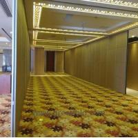 Buy cheap Aluminum movable partition wall aluminium sliding folding active from Wholesalers