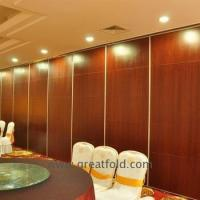 Buy cheap Aluminium movable partition wall active folding sliding from Wholesalers