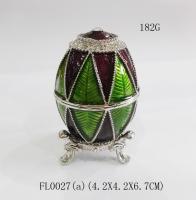 Buy cheap trinket jewelry box fantasy jewelry box faberge egg jewelry box from Wholesalers