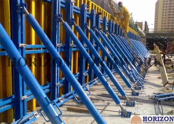 Adjustable Single Sided Wall Formwork , High Tensile Steel