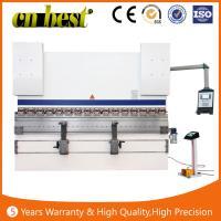 Buy cheap hydraulic Servo Hydraulic Press Brake/ metal plate sheet bending machine/iron steel cnc Press Brake machine from Wholesalers