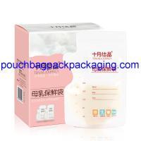 Buy cheap Breast milk storage bag condensed milk packaging for fresh soy milk supplier from Wholesalers