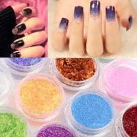 Buy cheap Tiny PET Glitter Powder Hexagonal For Nail Art Acrylic Tips Decoration from Wholesalers