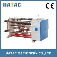 China Non Woven Cloth Slitting Machine,Bond Paper Slitting Machine,Graphite Coated Aluminum Foil Slitting Rewinding Machine on sale