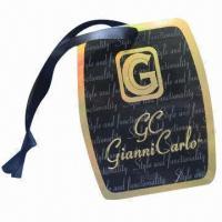 Golden Light Garment Hang Tag
