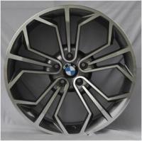 High performance car alloy wheel 20 inch 120(mm) PCD car aluminium wheels gun grey machined face