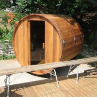 China European Style Barrel Sauna Room on sale
