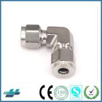 China Stainless Steel Swagelok Standad Elbow Metric Thread Bite Type Tube Fittings on sale
