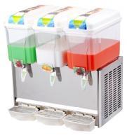 China Juice Dispenser with Paddle Stirring System Cold Drink Dispenser For Bars Shops 18L×3 on sale