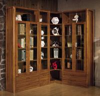 Buy cheap Modern study room furniture /Corner bookcase bookshelf wooden from Wholesalers