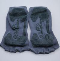 Buy cheap half toe no-shows socks grip socks non-slip socks fitness yoga socks from Wholesalers
