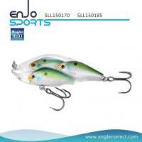 Angler Select Fishing Tackle School Fish Lipless Shallow Fishing Lure with Bkk Treble Hooks (SLL150170)