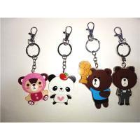 Buy cheap Popular Mini 3D soft PVC/Magic silicone LED Bear Key chain/ Key Ring from Wholesalers