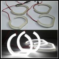 China Crystal SMD LED Angel Eyes headlight halo ring for BMW F30 F35 E90 sedan E92 coupe white on sale