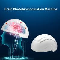 Buy cheap PBM Helmet Health Analyzer Machine Brain Photobiomodulation 810nm Infrared Light Therapy from Wholesalers
