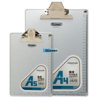 China Aluminium Edging  Silver Personalize  Plastic Clip Board Smooth on sale