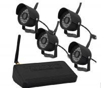 China 2.4G 4 Channel DVR Security System Kit Wireless Digital DVR Receiver 480 TV Line on sale
