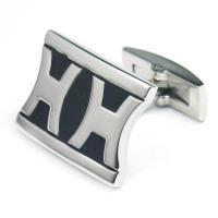 China custom metal cufflin and tie clip, epola cufflink, epola tie clip on sale