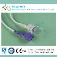 China Nellcor Oximax DEC-8 spo2 sensor adapter cable,2.4M on sale