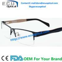 High quality oliver peoples eyewear Brand new light memory Ultem Optical Metal Eye Glasses Frame