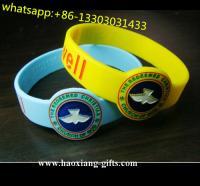 China Promotional bulk cheap sports silicon rubber band bracelet cancer silicone bracelet on sale