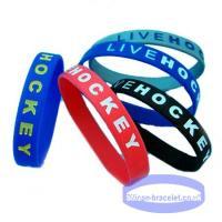 Buy cheap Fashion Silicone Slap-on Bracelet (JS-708) from Wholesalers