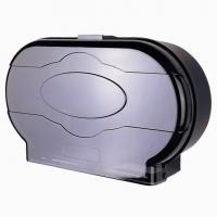 China Big Twin Jumbo Roll Tissue Dispenser Public Toilet Paper Holder on sale