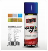 Aeropak  aerosol can 400ml 10oz metallic spray paint with all colors acrylic