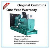 China 400KW diesel generator set Cummins 400V diesel genset on sale