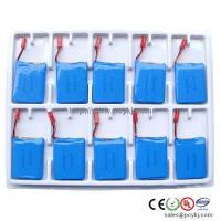 China MID polymer li-ion battery pack 7.4V 3000mAh on sale