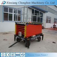 aerial scissor type platform lift from china