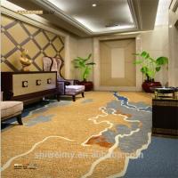 China Axminster coastline pattern hotel room carpet for sales on sale