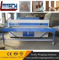 new cheaper Hot Double Station vacuum membrane press machine for furniture