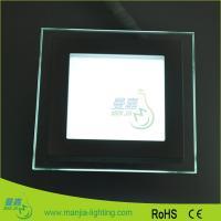 Square Led Ceiling Lights Fixture / Hospital 18w 900 Lm Led