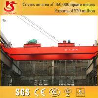 Buy cheap 2015 hot sale qd overhead crane 100t heavy overhead crane from Wholesalers