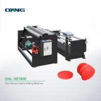 Plate Non Woven Slitting Machine / Automatic Stretch Film Slitting Rewinding Machine