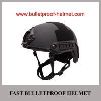 China Wholesale Cheap China NIJ IIIA Military Grey Police PE Ballistic FAST Helmet on sale