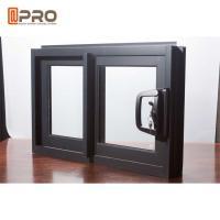 Australia Double Glazed Aluminium Sliding Windows High Strength Durable For Hotel Project