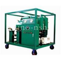 China Sino-nsh VFD transformer Oil Purification plant on sale