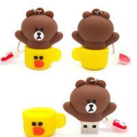 Buy cheap Emoji Shaped 16GB Unicorn Silicone Pen Drive Customized PVC USB Flash Lightweight from Wholesalers